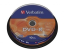 VERBATIM DVD-R(10-Pack)Spindle/General Retail/16x/4.7GB