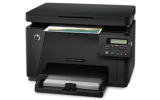 CLJ Pro MFP M176n  (A4, 16/4 ppm, USB 2.0, Ethernet, Print/Scan/Copy)