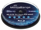 MEDIARANGE BD-R BLU-RAY 50GB 6x DoubleLayer spindl 10pck/bal