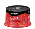 SONY CD-R 700 MB, 48x, cake box,  50 ks - bulk
