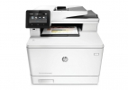 CLJ Pro Color MFP M477fnw (A4, 27/27 ppm, USB 2.0, Ethernet, Print/Scan/Copy/Fax)