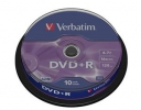 DVD+R VERBATIM, DataLife PLUS,4.7GB 10ks, cake box