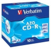 CD-R VERBATIM 700 MB, Extra protection, 10ks, jewe