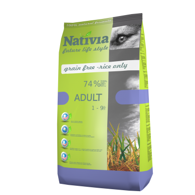 NATIVIA ADULT | CHICKEN & RICE | 3 kg