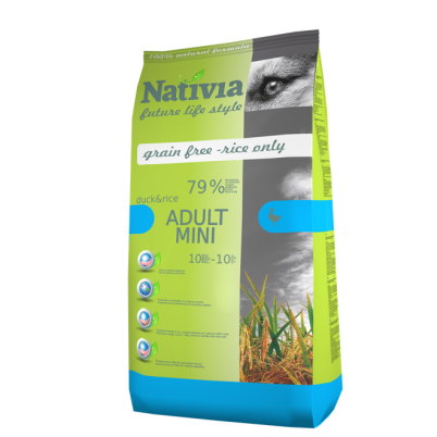 NATIVIA ADULT MINI | DUCK & RICE | 3 kg