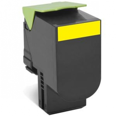 802Y Yellow Return Program Toner Cartridge - 1 000 stran