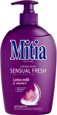 Mitia tek.mýdlo 500ml Sensual Fresh pump