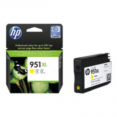 CN048AE HP Ink Cart No.951XL pro OJ 8100, 251dw, 276dw, 17ml, Yellow