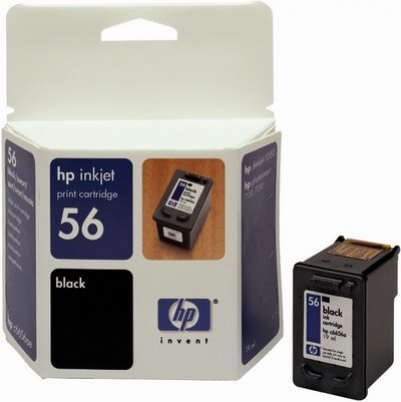 C6656AE HP Ink Cart No.56 pro DJ 5550, PS 7x50, 7x60, 19ml, Black