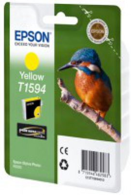 EPSON cartridge T1594 yellow (ledňáček)