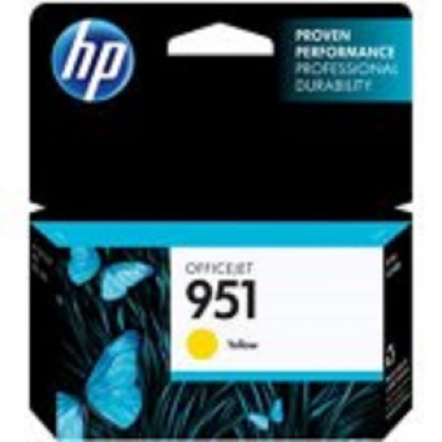 CN052AE HP Ink Cart No.951 pro OJ Pro 8610,8620, 700str., Yellow