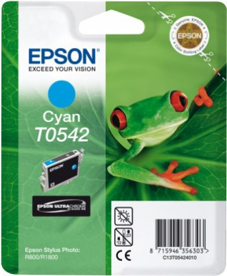 EPSON cartridge T0542 cyan (rosnička)