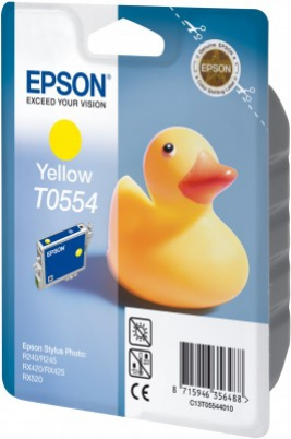 EPSON cartridge T0554 yellow