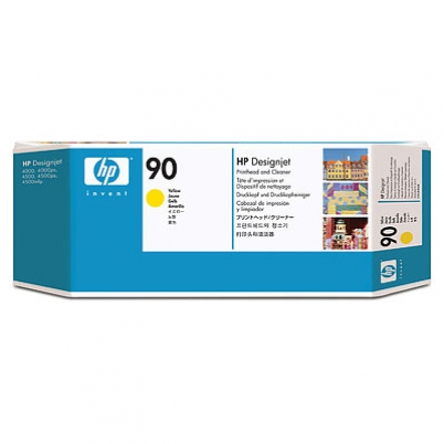 C5057A No. 90 Yellow Printhead and Cleaner pro DSJ 4000