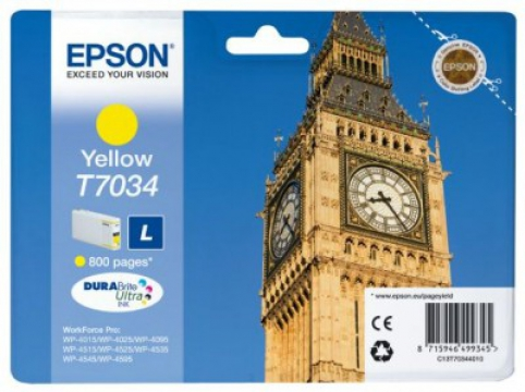 EPSON cartridge T7034 yellow (big ben)