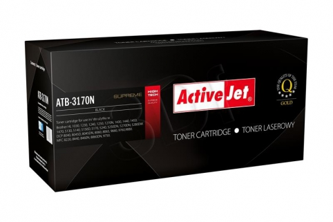 ActiveJet Toner Brother TN-3060/TN-3170/TN-6600   Supreme NEW 100% - 7000 stran     ATB-3170N