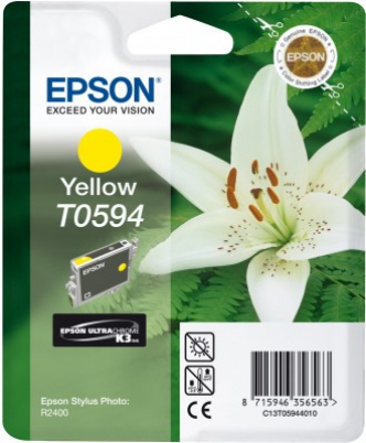 EPSON cartridge T0594 yellow (lilie)