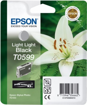 EPSON cartridge T0599 light light black (lilie)