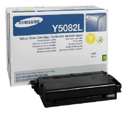 Samsung toner yellow CLT-Y5082L pro CLP-620ND - 4000 str.