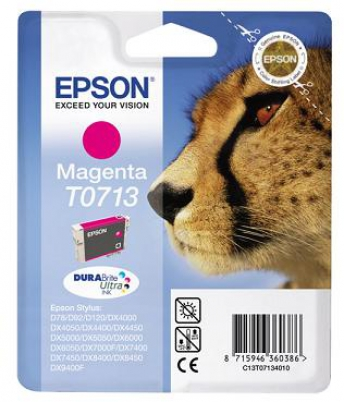 EPSON cartridge T0713 magenta (gepard)
