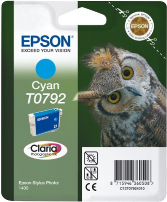 EPSON cartridge T0792 cyan (sova)