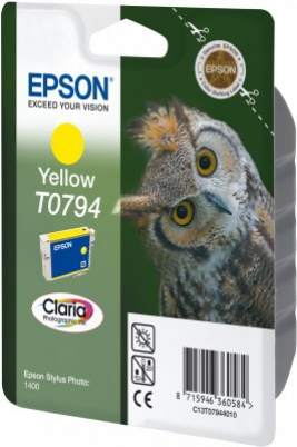EPSON cartridge T0794 yellow (sova)