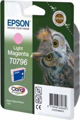 EPSON cartridge T0796 light magenta (sova)