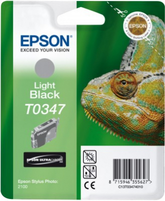 EPSON cartridge T0347 light black (chameleon)