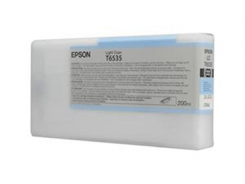 EPSON cartridge T6535 Light Cyan Ink Cartridge (200ml)