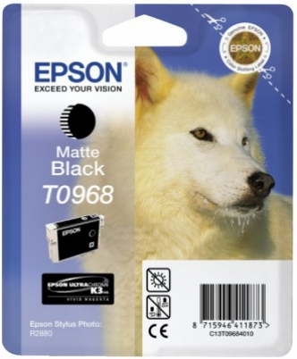 EPSON cartridge T0968 black (vlk)