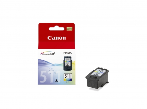 Canon cartridge CL-511 BLISTR s ochranou (CL511)