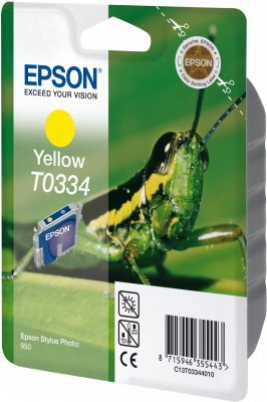 EPSON cartridge T0334 yellow (kobylka)