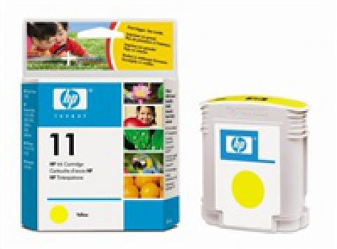 C4838A HP Ink Cart No.11 pro BI 2200,2250,CP1700, 28ml, Yellow
