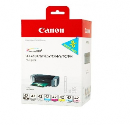 Canon cartridge CLI-42 8inks Multi Pack (CLI42)