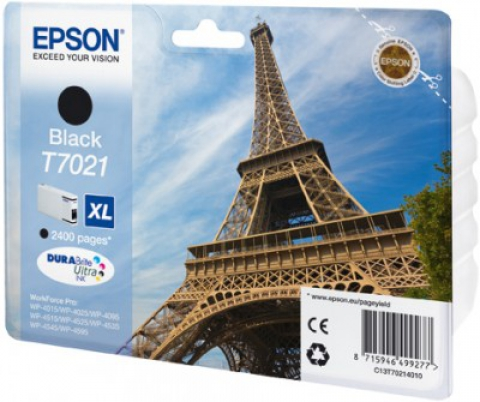 EPSON cartridge T7021 black (eifelovka)