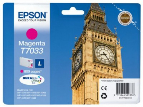 EPSON cartridge T7033 magenta (big ben)