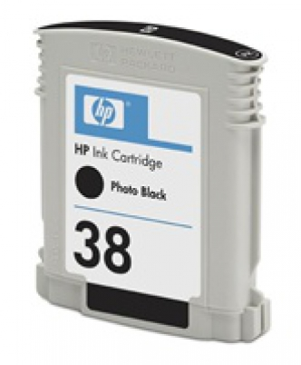 C9412A HP Ink Cart No.38 pro Photosmart Pro B9180, 27ml,  Matte Black