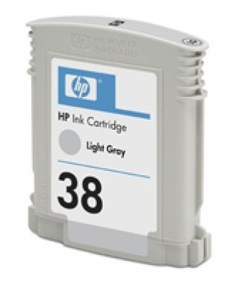 C9414A HP Ink Cart No.38 pro Photosmart Pro B9180,  27ml, Light Grey