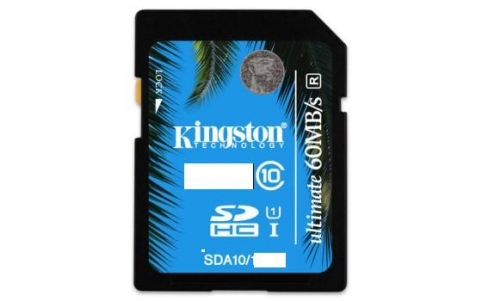 KINGSTON 64GB SDXC Class 10 UHS-I Ultimate 233x Flash Card (60MB/s red, 35 MB/s write)