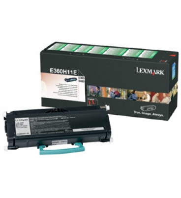 E360, E460 9K High Yield Return Program Toner Cartridge
