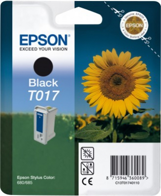 EPSON cartridge T0174 black (slunečnice)