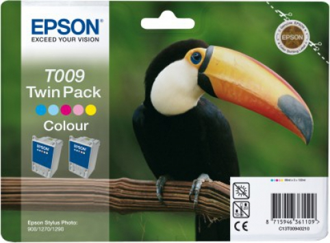 EPSON cartridge T0094 color twinpack (tukan)