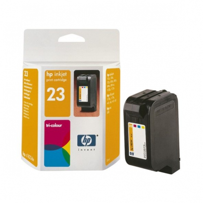 C1823D HP Ink Cart No.23 pro DJ 7xx,815,880,890,895,1120C, 30ml, Color