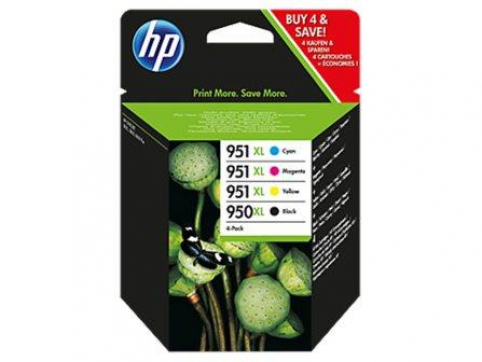 C2P43AE HP Ink Cart No.950XL+951XL CMYK, (CN045AE-48)